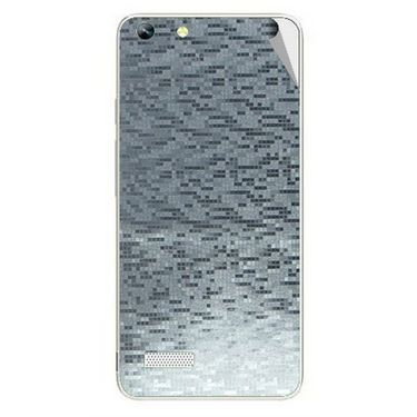 Snooky 44345 Mobile Skin Sticker For Micromax Canvas Hue AQ5000 - silver
