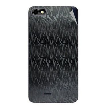Snooky 44364 Mobile Skin Sticker For Micromax Micromax Bolt D321 - Black