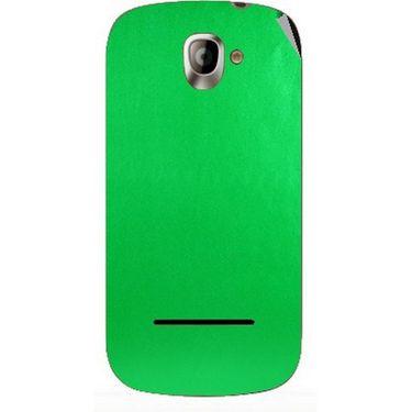 Snooky 44404 Mobile Skin Sticker For Xolo A500 - Green