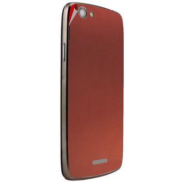 Snooky 44447 Mobile Skin Sticker For Xolo A510S - Copper