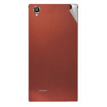 Snooky 44459 Mobile Skin Sticker For Xolo A550S IPS - Copper