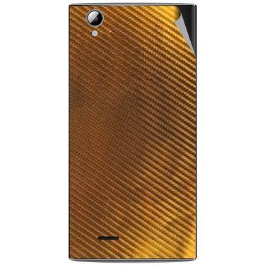 Snooky 44469 Mobile Skin Sticker For Xolo A600 - Golden