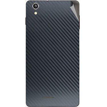 Snooky 44491 Mobile Skin Sticker For Xolo A1010 - Black