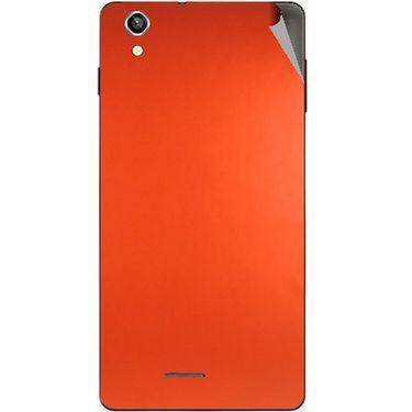 Snooky 44498 Mobile Skin Sticker For Xolo A1010 - Orange