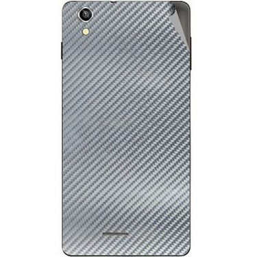 Snooky 44502 Mobile Skin Sticker For Xolo A1010 - silver