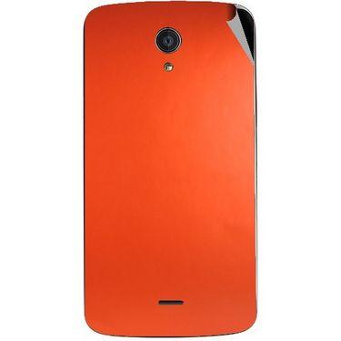 Snooky 44510 Mobile Skin Sticker For Xolo Omega 5.0 - Orange