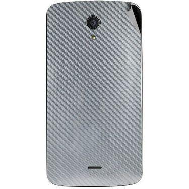 Snooky 44514 Mobile Skin Sticker For Xolo Omega 5.0 - silver