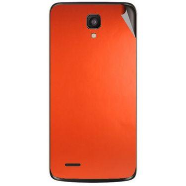 Snooky 44582 Mobile Skin Sticker For Xolo Q700 - Orange