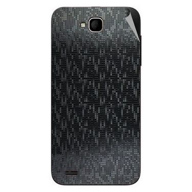 Snooky 44604 Mobile Skin Sticker For Xolo Q800 - Black