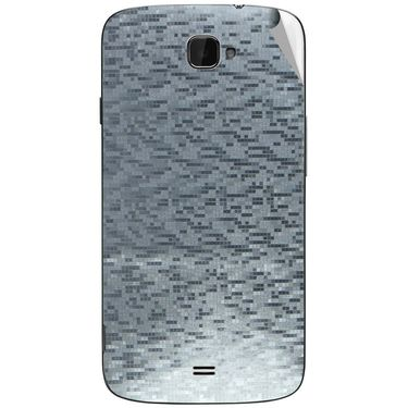 Snooky 44657 Mobile Skin Sticker For Xolo Q1000 Opus - silver