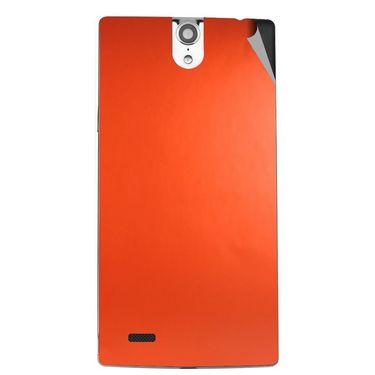 Snooky 44666 Mobile Skin Sticker For Xolo Q1010i - Orange