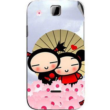 Snooky 45908 Digital Print Mobile Skin Sticker For Micromax Ninja 3.5 A54 - Multicolour