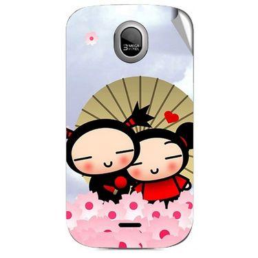 Snooky 46036 Digital Print Mobile Skin Sticker For Micromax Ninja A89 - Multicolour