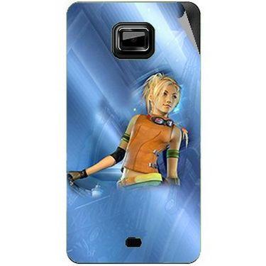 Snooky 46108 Digital Print Mobile Skin Sticker For Micromax Ninja A91 - Blue