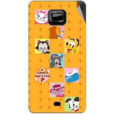 Snooky 46112 Digital Print Mobile Skin Sticker For Micromax Ninja A91 - Yellow