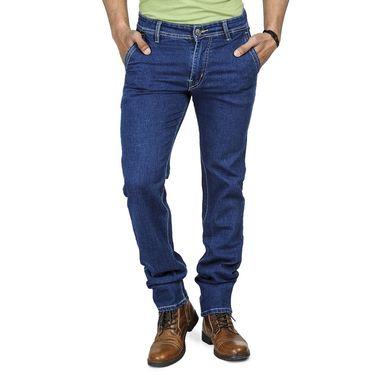 Pack of 2 Blended Cotton Slim Fit Jeans_5021011 - Light & Dark Blue