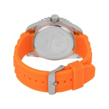 Chappin & Nellson Analog Round Dial Watch For Women_Cnp10w22 - Orange