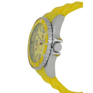 Chappin & Nellson Analog Round Dial Watch For Women_Cnp10w25 - Yellow
