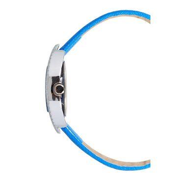 Exotica Fashions Analog Oval Dial Watch For Women_Efl9w66 - Blue