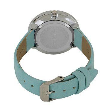 Exotica Fashions Analog Round Dial Watch For Women_Efl29w10 - White