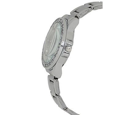 Exotica Fashions Analog Round Dial Watch For Women_Efl95w14 - White