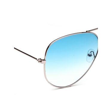 Alee Metal Oval Unisex Sunglasses_120 - Blue