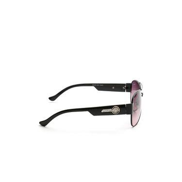 Alee Metal Oval Unisex Sunglasses_173 - Purple