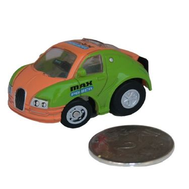 Adraxx Stunt Parkour Fly Mini RC Car Toy - Green