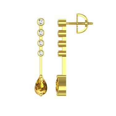 Ag Real Diamond Swapna Earrings_Agge019y