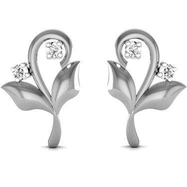 Ag Real Diamond Anjali Earrings_Agse0044w