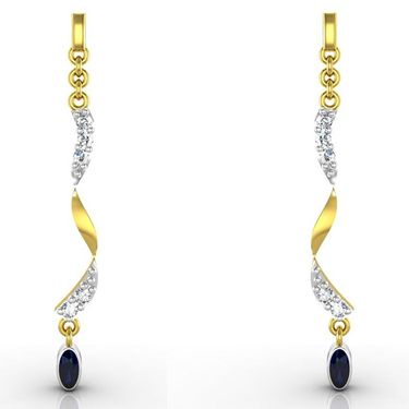 Ag Real Diamond Deepika Earrings_Agse0083y
