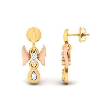 Kiara Sterling Silver Divya Earrings_6238e