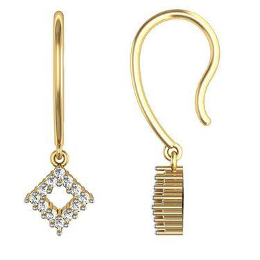Avsar Real Gold and Swarovski Stone Varsha Earrings_Ave004yb