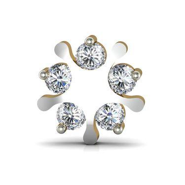Avsar Real Gold and Swarovski Stone Kajal Earrings_Ave006yb