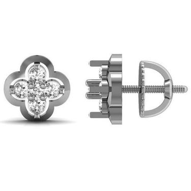 Avsar Real Gold and Swarovski Stone Kinjal Earrings_Ave007wb