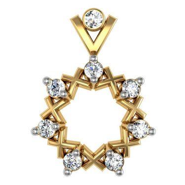 Avsar Real Gold and Swarovski Stone Deepika Earrings_Ave036yb
