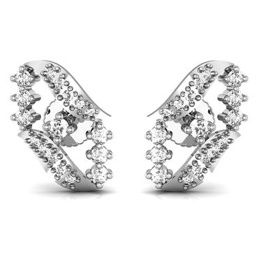 Avsar Real Gold and Swarovski Stone Tamilnadu Earrings_Ave0181wb