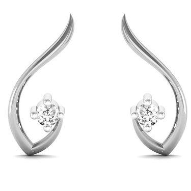 Avsar Real Gold and Swarovski Stone Jammu Earrings_Uqe001wb