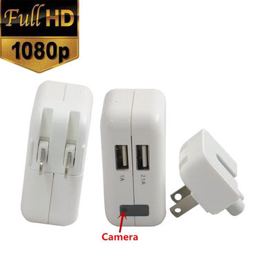 SPY HIDDEN CAMERA REAL AC POWER ADAPTER MOTION DETECTION - CODE 325