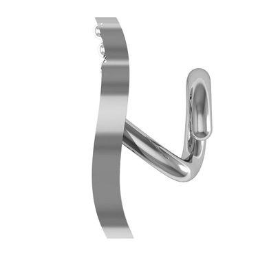 AG Real Diamond Divya Nose Pin_Agsno020w - White