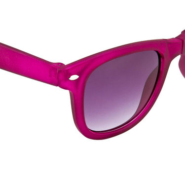 Mango People Plastic Unisex Sunglasses_Mp20156pr01 - Purple