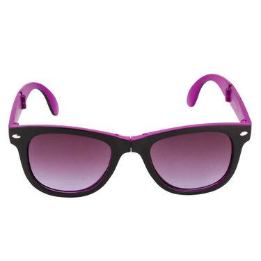 Mango People Plastic Unisex Sunglasses_Mp20156pr02 - Black