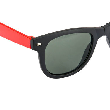 Mango People Plastic Unisex Sunglasses_Mp20156rd01 - Black