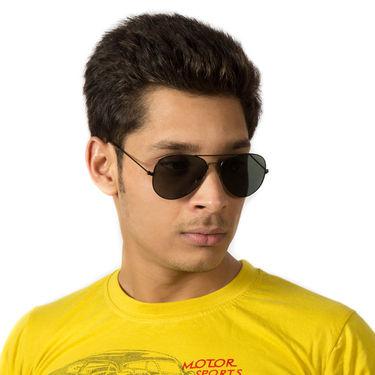 Mango People Metal Unisex Sunglasses_Mpavi2001blk - Black