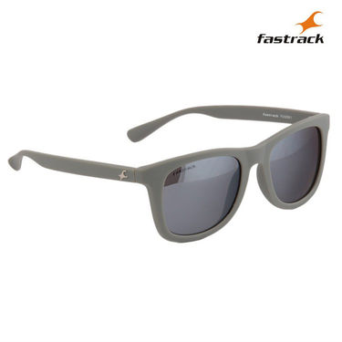 Fastrack 100% UV Protection Sunglasses For Men_P292bk1 - Silver