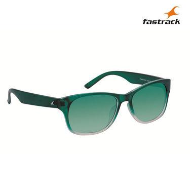 Fastrack 100% UV Protection Sunglasses For Women_Pc001bu13 - Green