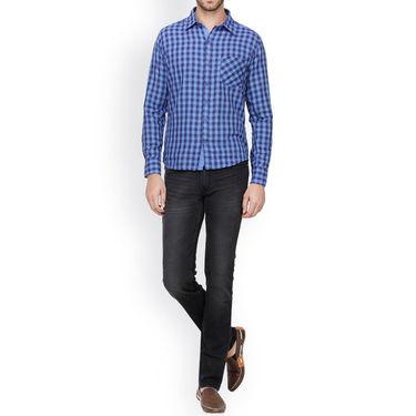 Crosscreek Cotton Casual Shirt_1230301 - Blue