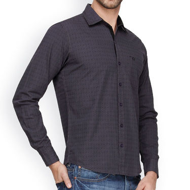 Crosscreek Cotton Casual Shirt_1030305 - Grey