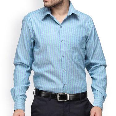 Copperline Cotton Rich Formal Shirt_CPL1157 - Green