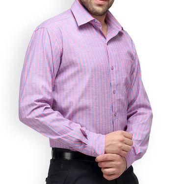 Copperline Cotton Rich Formal Shirt_CPL1158 - Red